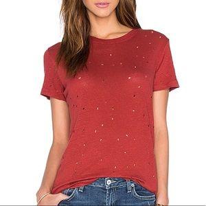 IRO Clay T-Shirt in Red